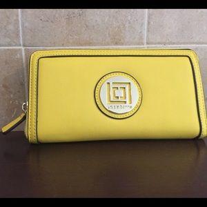 Liz Claiborne Yellow Wallet